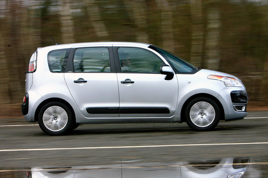 Citroën C3 Picasso side profile