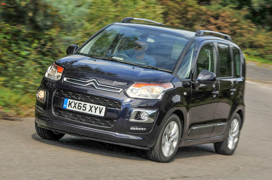 citroen c3 picasso review 2017 autocar. Black Bedroom Furniture Sets. Home Design Ideas