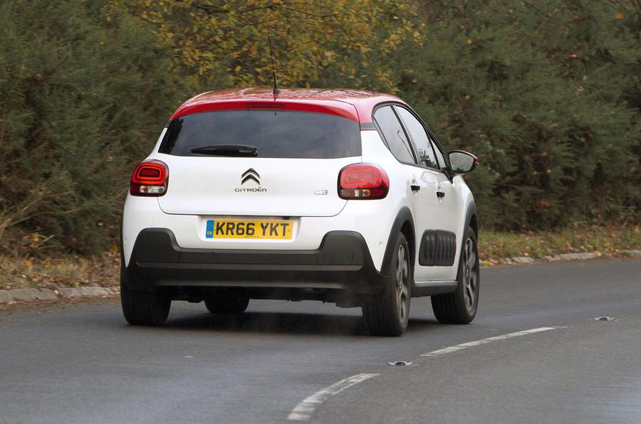 Citroën C3 rear