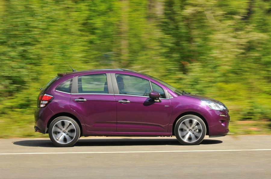 Citroën C3 side profile