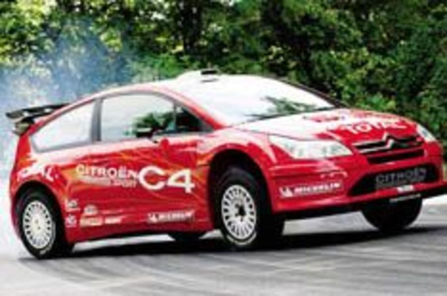 Wraps off Citroën's C4 WRC car