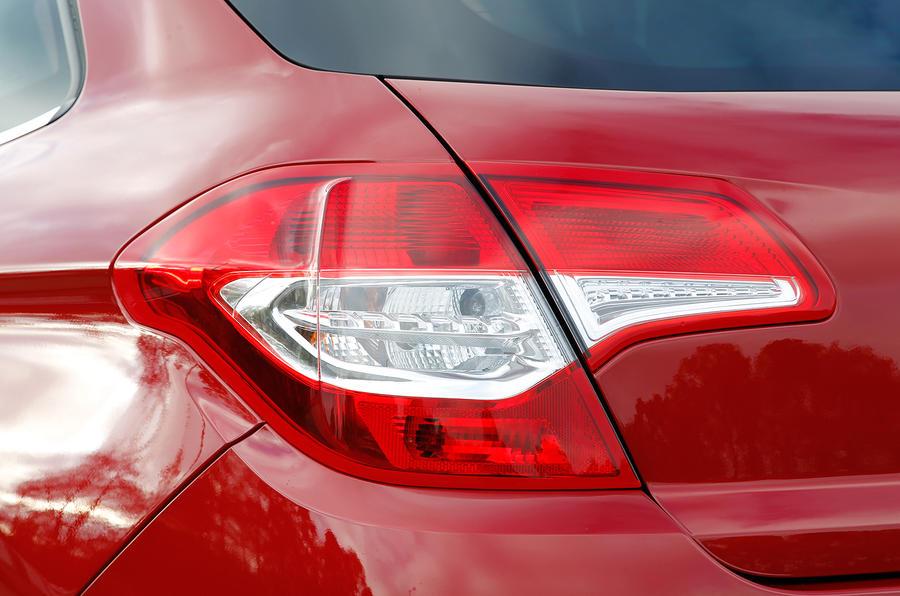 Citroën C4 rear lights