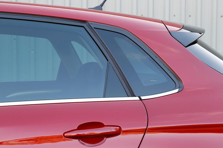 Citroën C4 rear windows