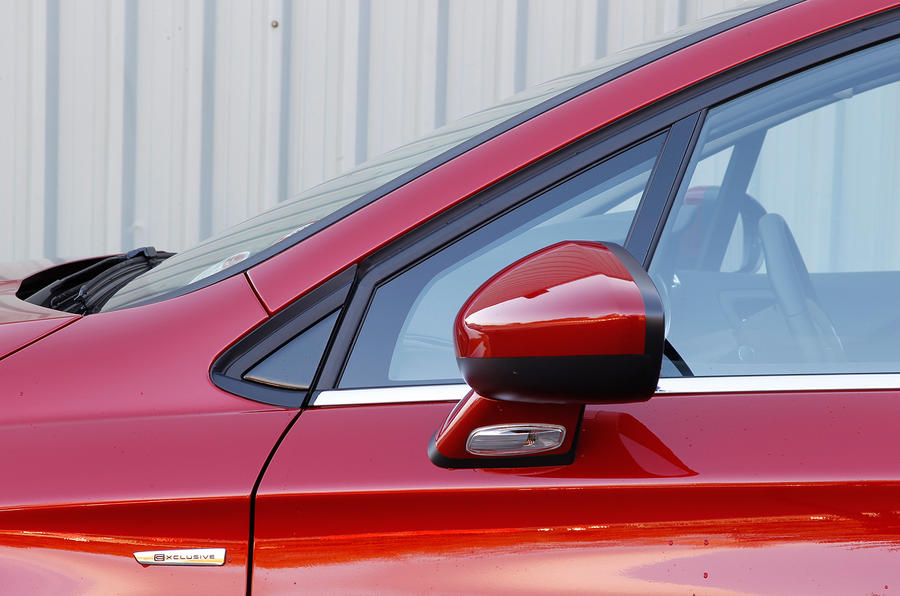 Citroën C4 wing mirrors