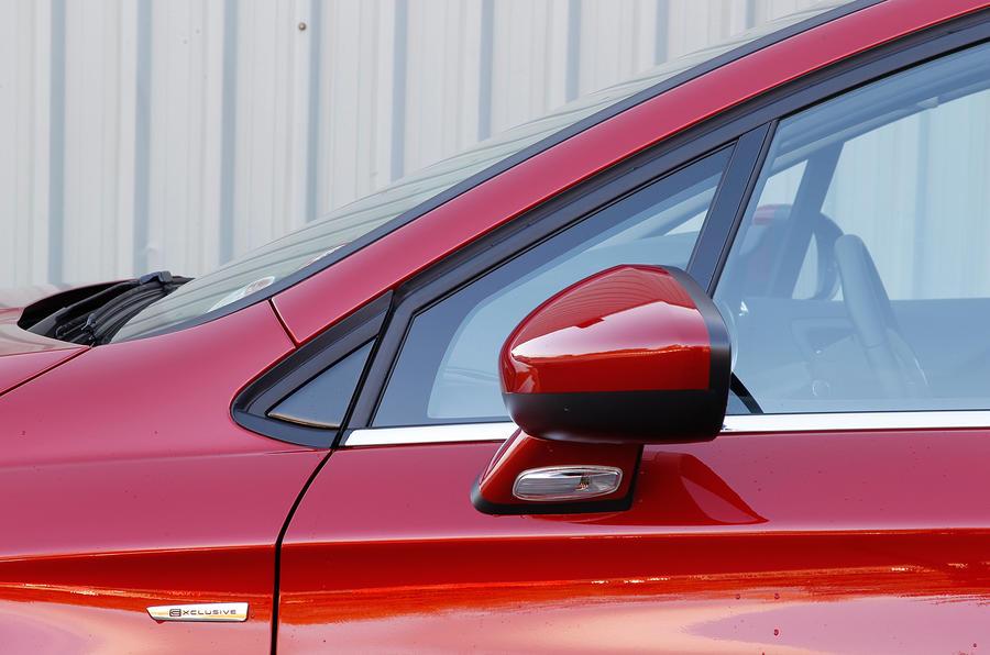 Citroën C4 wing mirrors