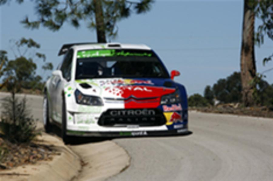 Citroen tests hybrid WRC car