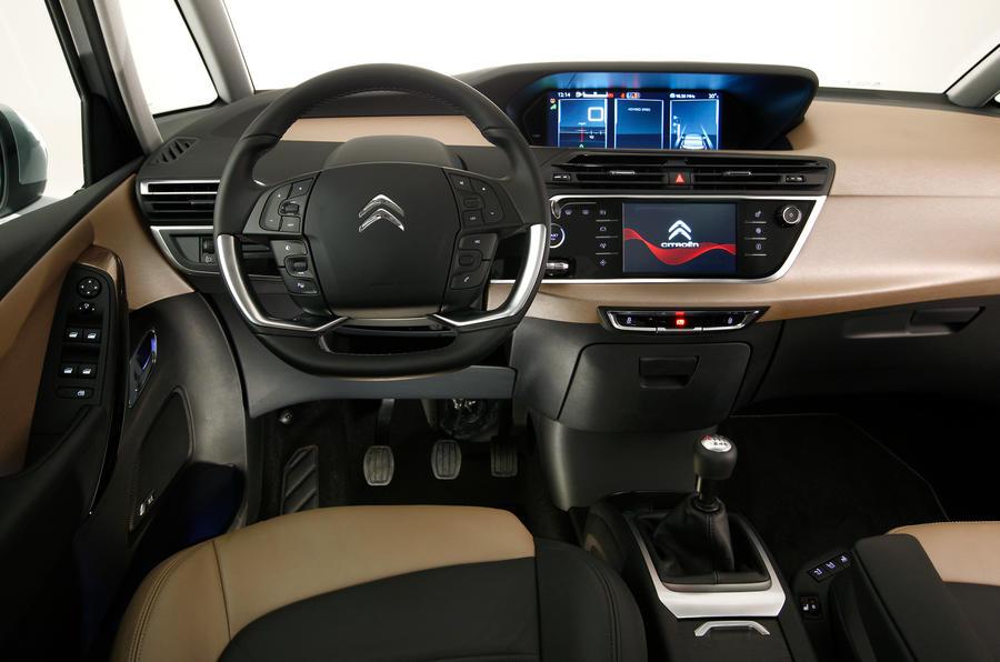 Citroën C4 Picasso dashboard
