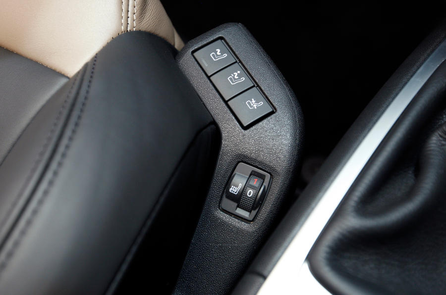 Citroën C4 Picasso heated seats