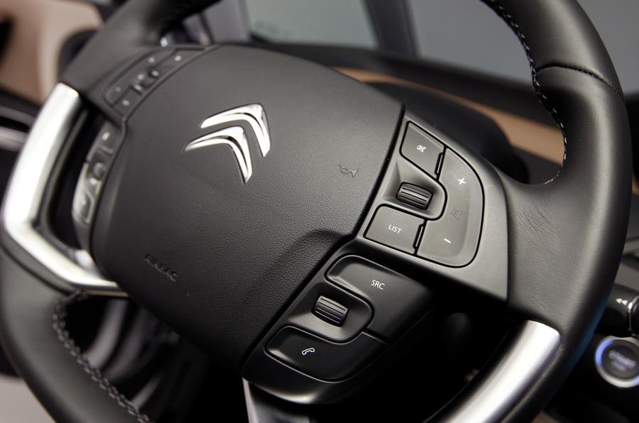 Citroën C4 Picasso steering wheel