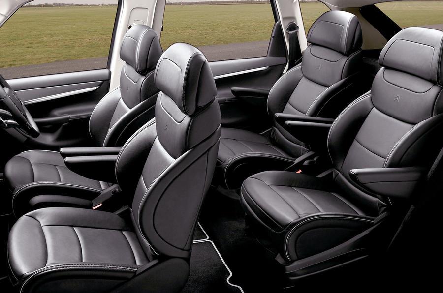 Citroën C4 Picasso seats