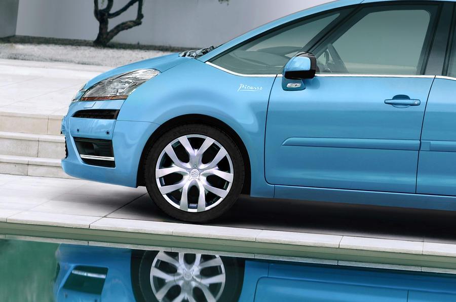 Citroën C4 Picasso front end