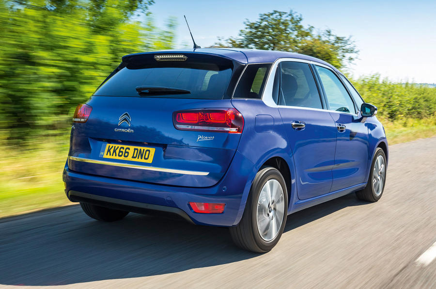 Citroën C4 Picasso rear