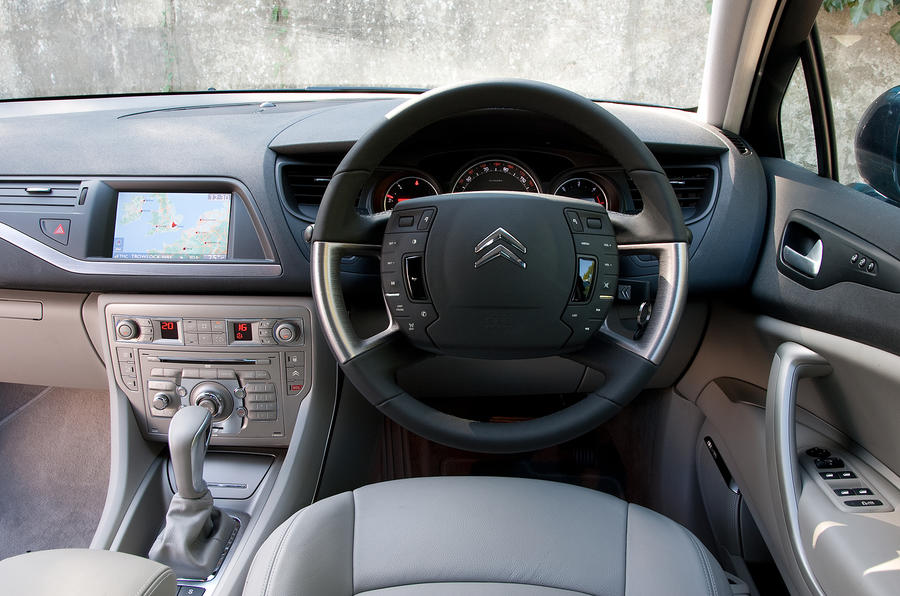 Citroën C5 interior