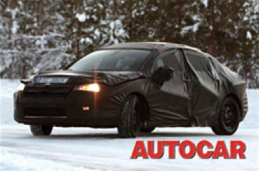 Spy shots of the next Citroen C5