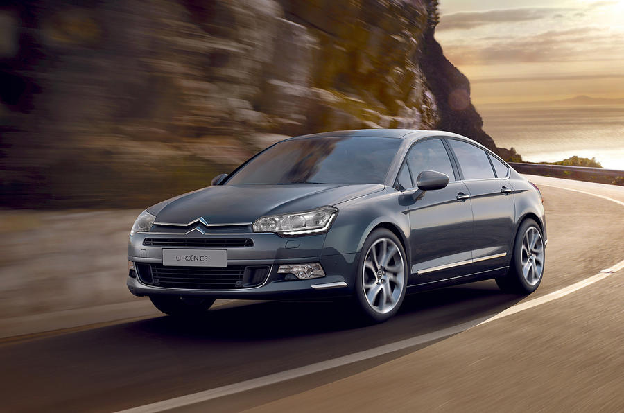 Citroen launches revised C5 range