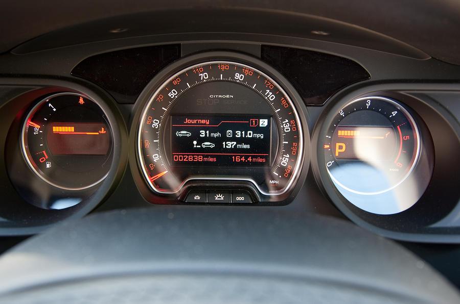 citroen c5 2008 2016 interior autocar Citroen Xantia Interior citro n c5 instrument cluster