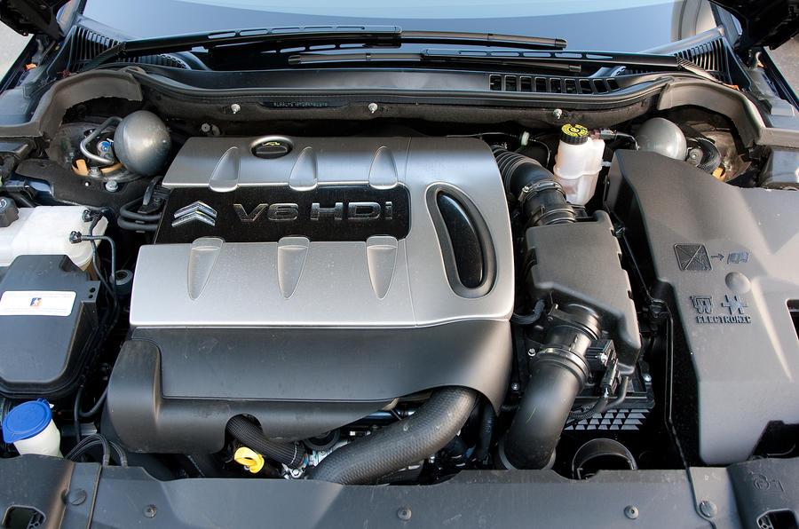 2.2-litre Citroën C5 diesel engine