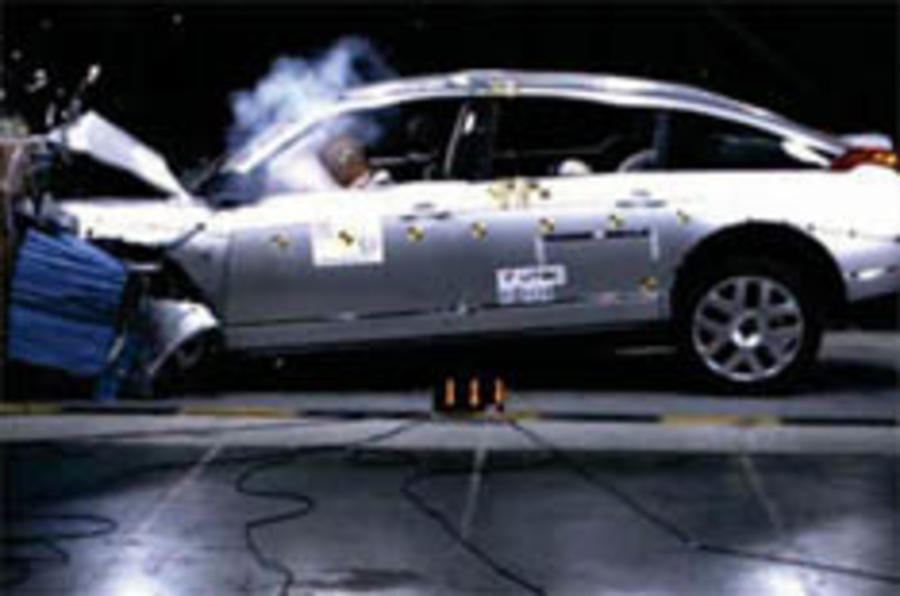 C6 stars, Jeep falters in NCAP tests