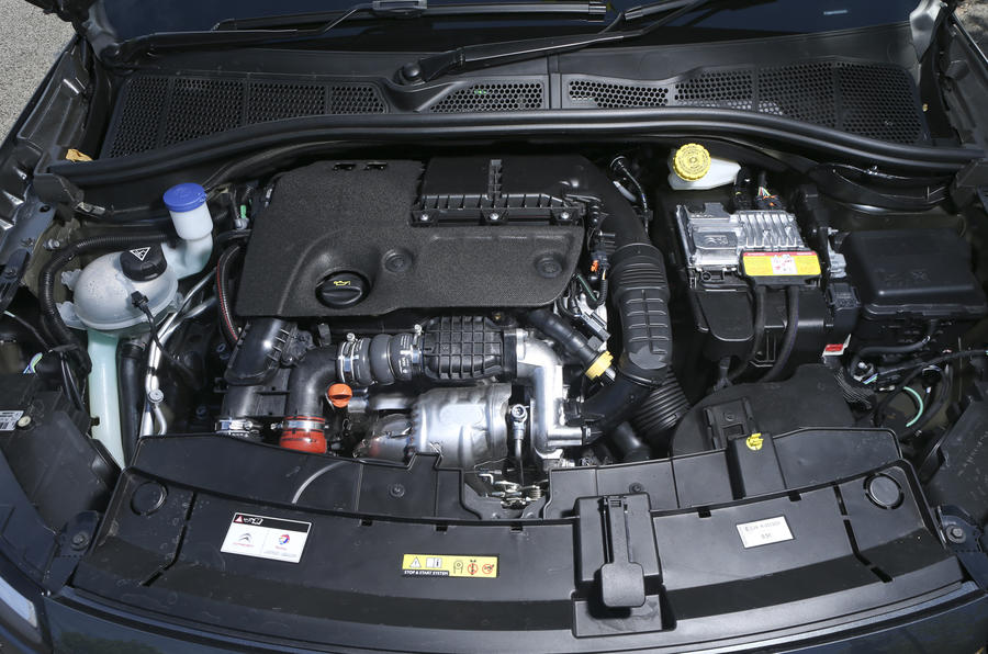 1.6-litre Citroën C4 Cactus engine