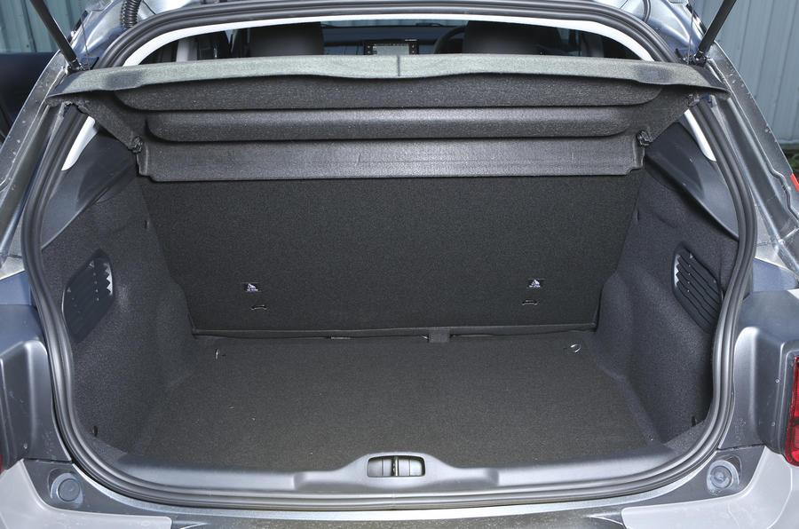 Citroën C4 Cactus boot space