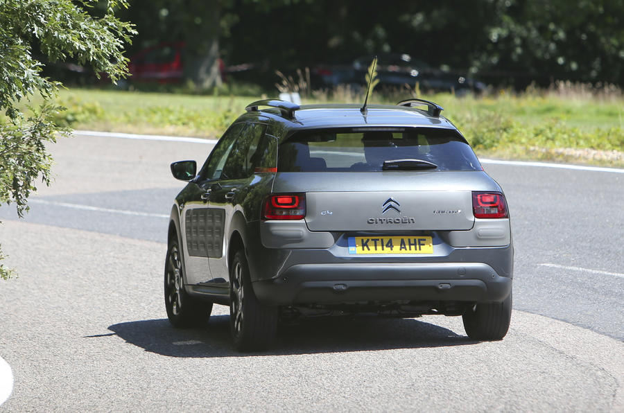 Citroen C4 Cactus BlueHDi 100 Flair UK first drive review