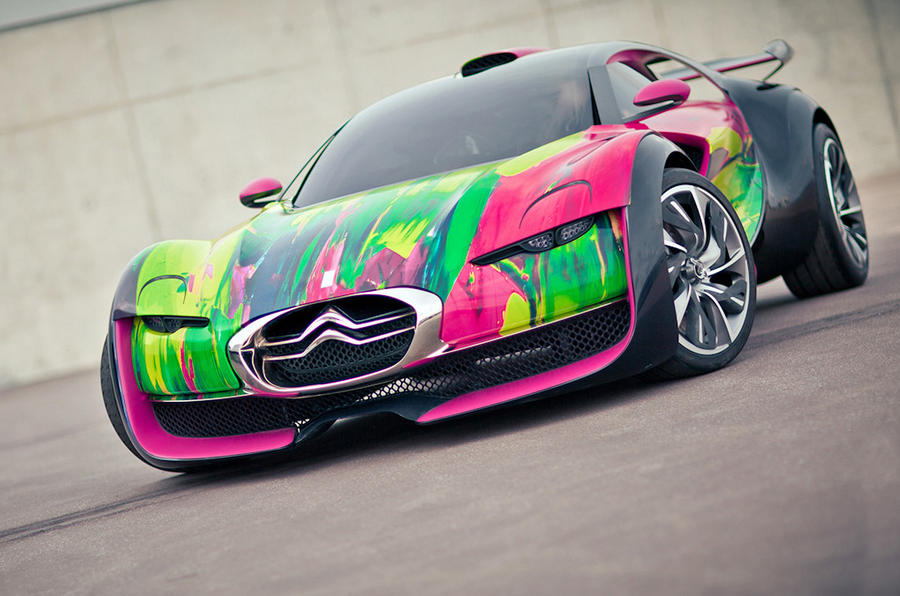 Citroen Survolt Art Car revealed