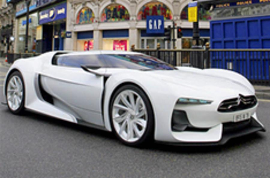 Citroen GT hits London streets