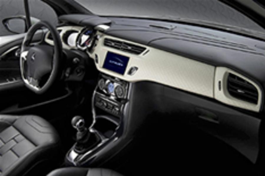 Citroen DS Inside interior details
