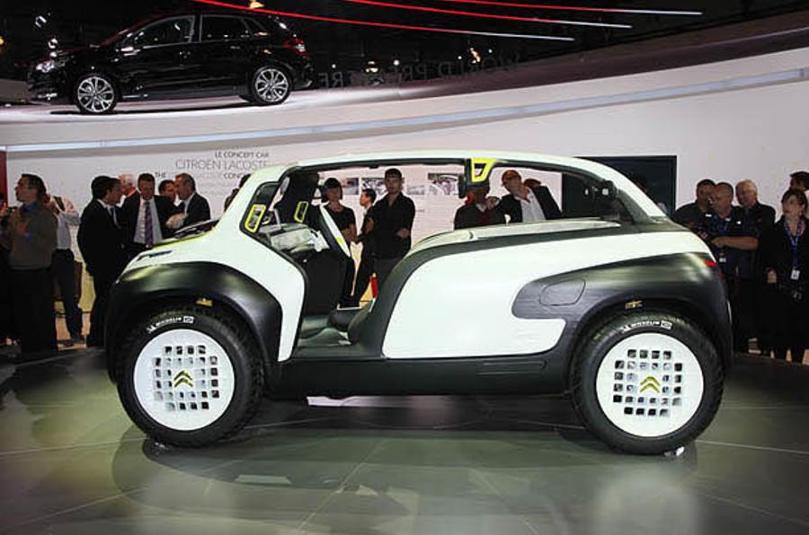 Paris Motor Show 2010 Citron Lacoste Should Be Made Autocar