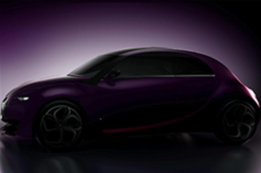 Citroen's concept: new teaser