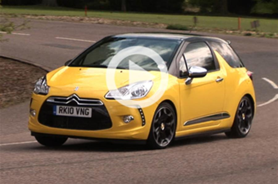 Citroen DS3: 90sec video verdict