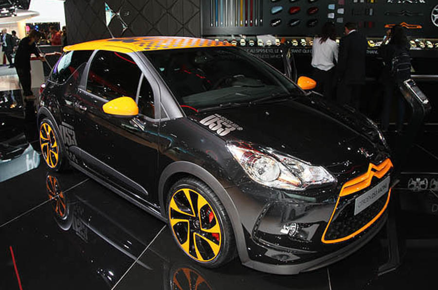 Paris motor show: Citroen DS3 Racing