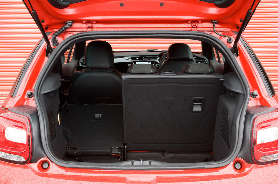 DS3 boot space