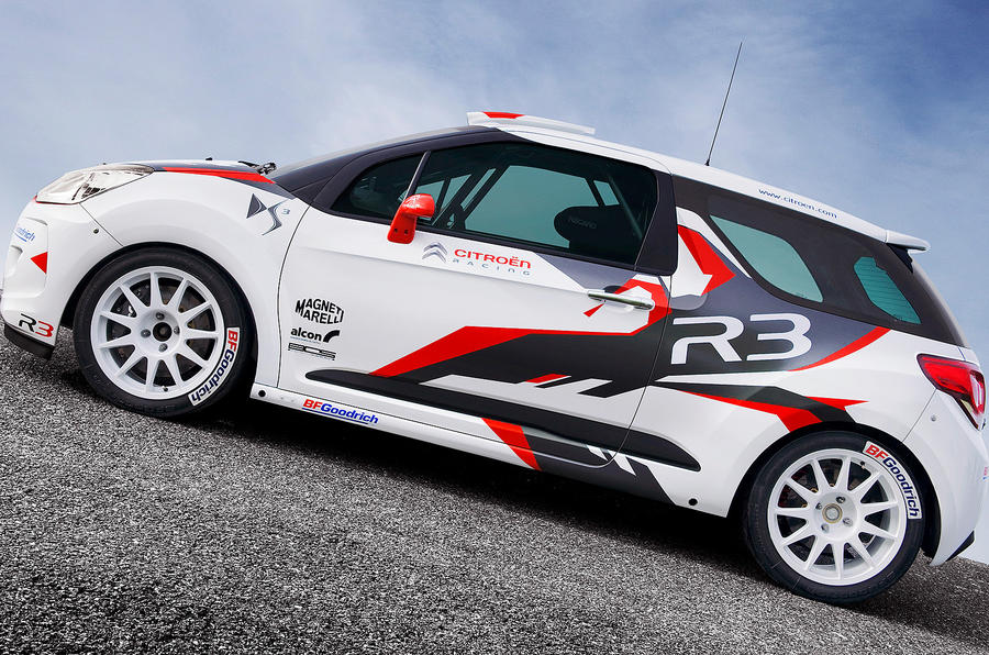 Citroën DS3 WRC: first pics