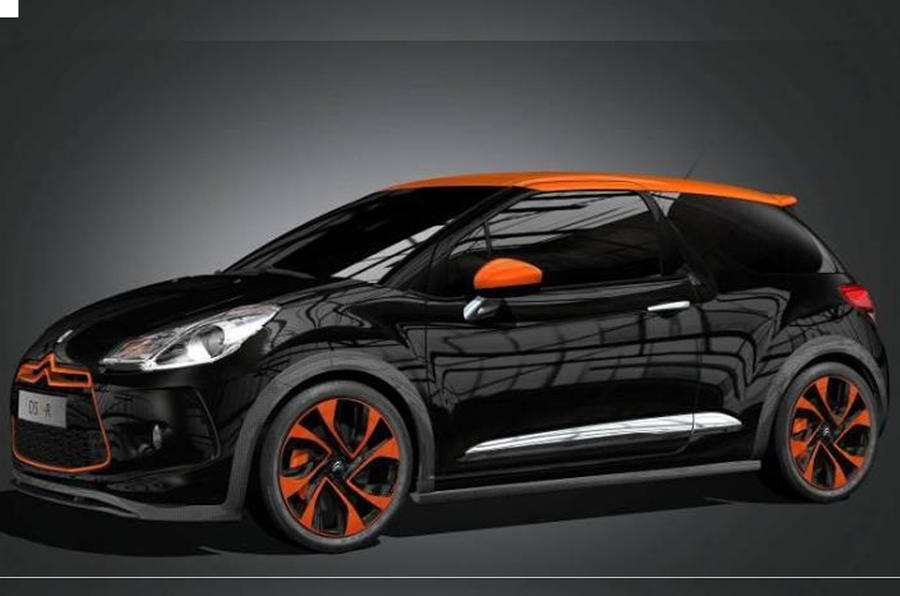 Hot Citroen DS3-R leaks out
