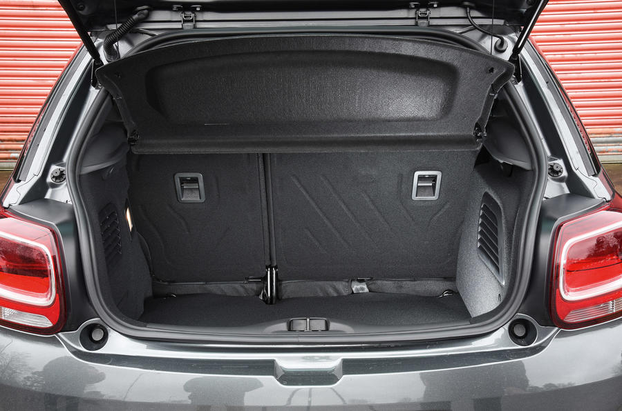 DS 3 boot space