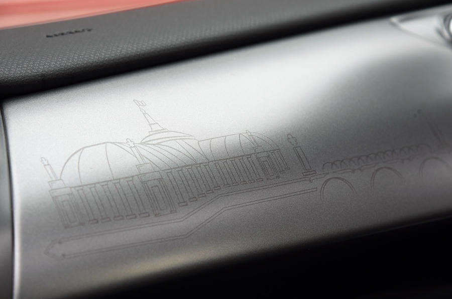 Parisian etchings inside DS 3