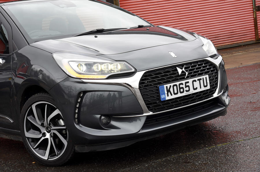 DS 3 front end