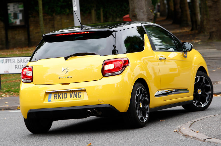 DS3 DSport rear cornering
