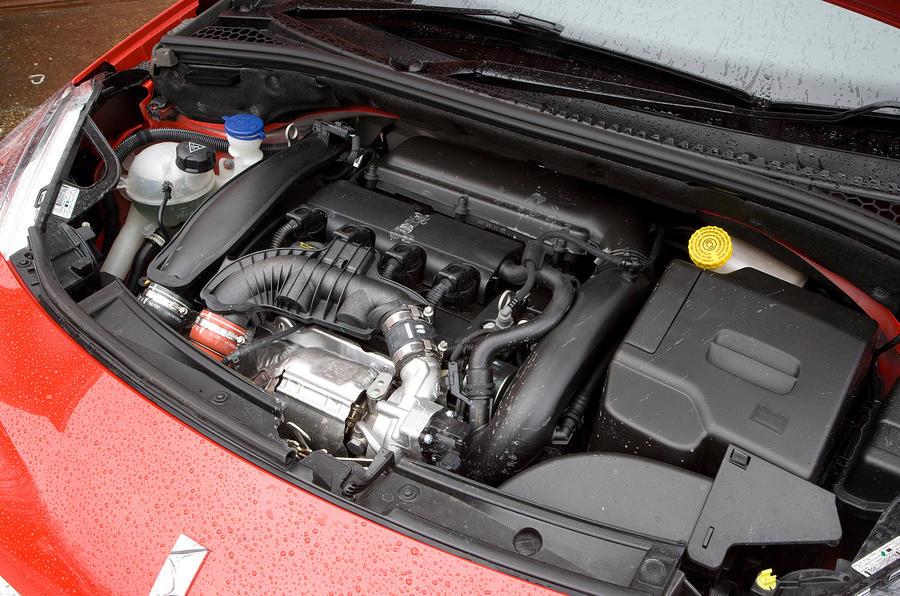 DS3 1.6-litre petrol engine