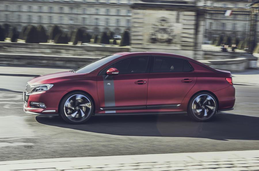 Hot Citroen DS 5LS R heading to Beijing