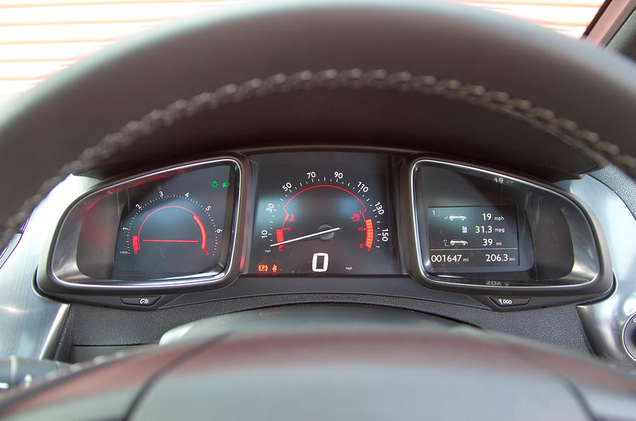 DS5 digital instrument cluster