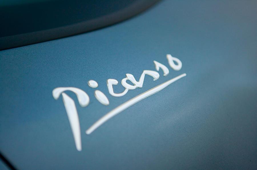 Citroën Grand C4 Picasso badging