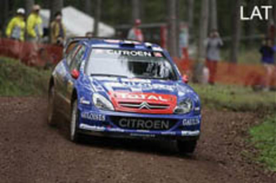 Sport: McRae back to replace Loeb