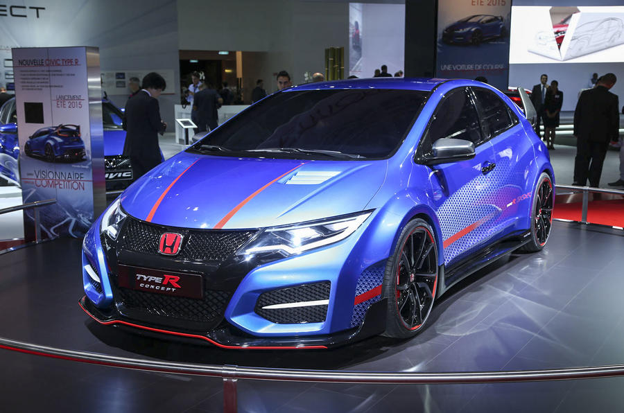 New Honda Civic Type R concept unveiled