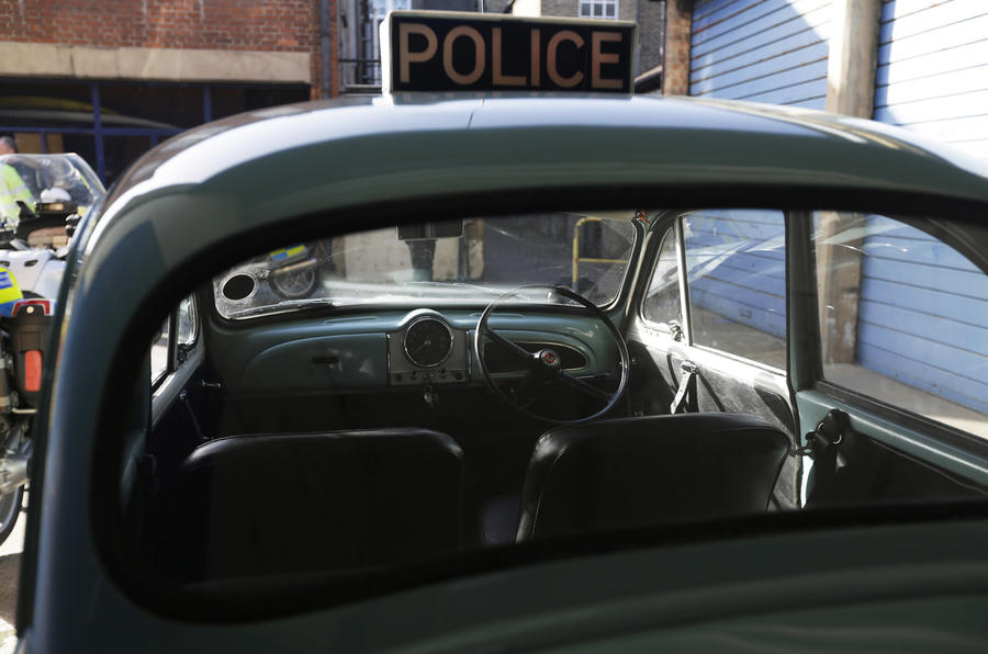 The siren call: Vintage cop cars