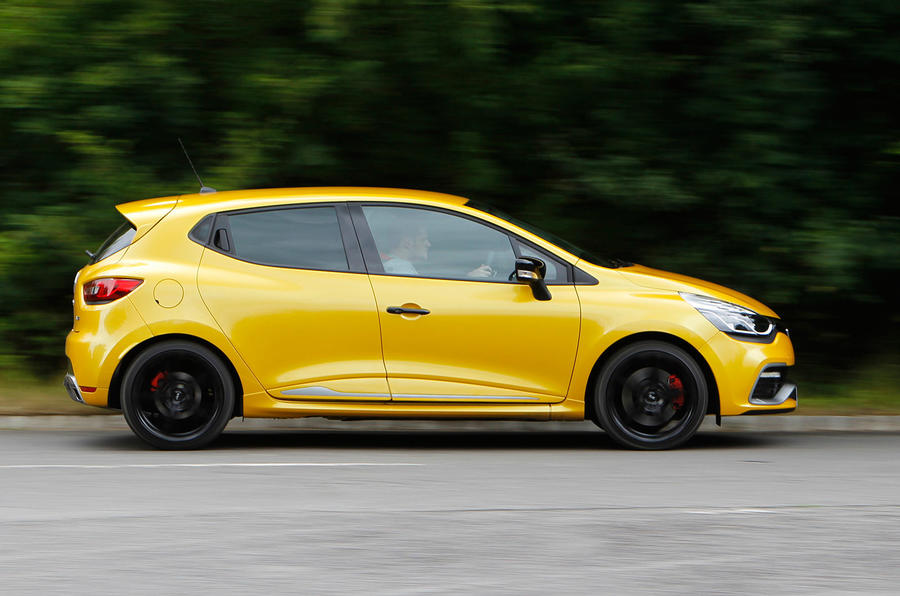 renault clio renaultsport review 2017 autocar. Black Bedroom Furniture Sets. Home Design Ideas