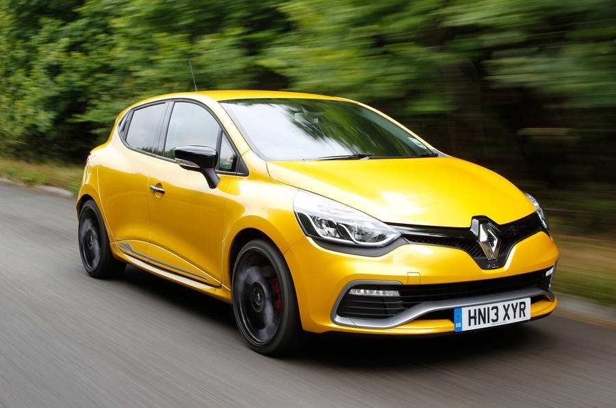 catalogue renault sport clio rs