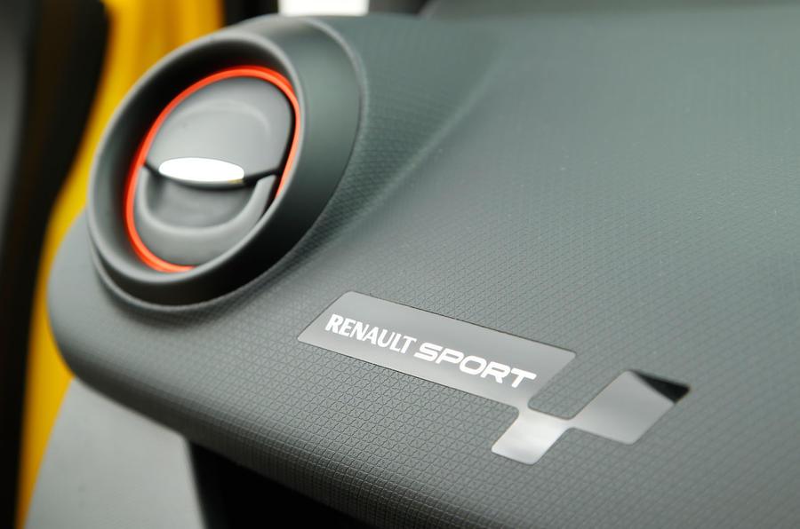 Renault Clio RS air vent