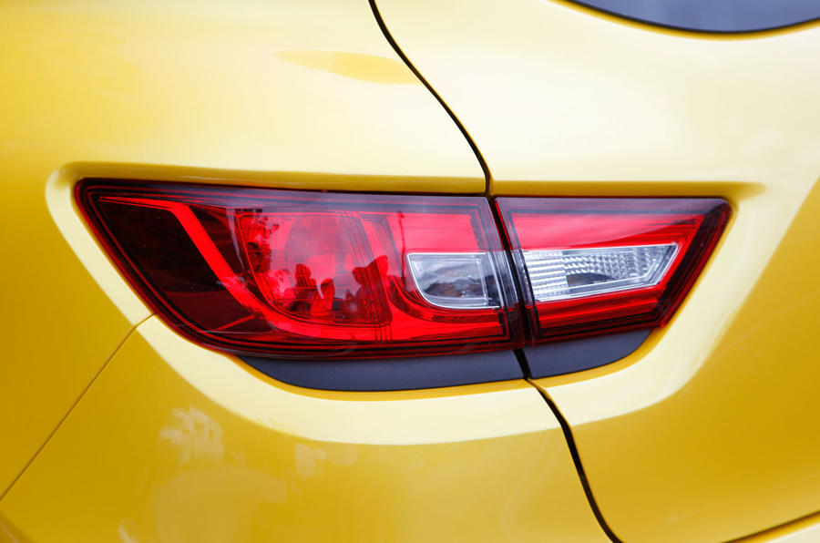 Renault Clio RS rear light